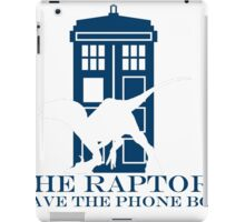 The raptors have the phone box 2 iPad Case/Skin