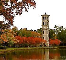 The Bell Tower on Swan Lake by Gordon Taylor