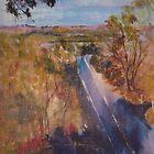 Towards Kilmore East - before the fires. Vic Australia by Margaret Morgan (Watkins)