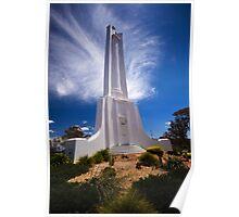 Albury War Memorial,NSW,Australia Poster