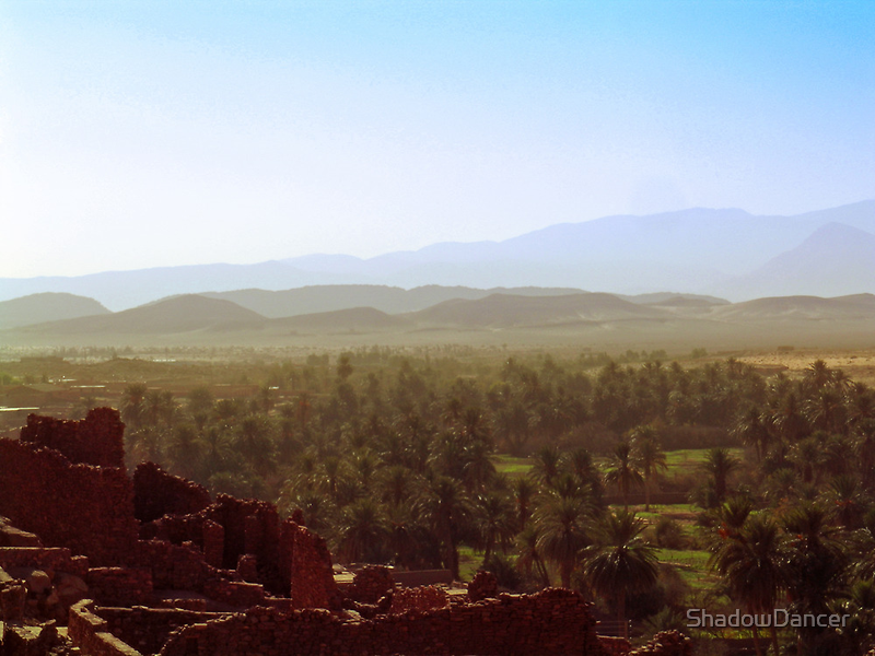 Beautiful Algeria - Warmth Radiated Across the Oasis by ShadowDancer