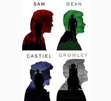Sam & Dean & Cas & Crowley Unisex T-Shirt