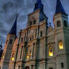 Cathedral-Basilica of St. Louis King of France by Abara  Ijiomah