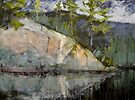 Rocks Attending the River by Holly Friesen