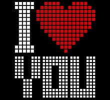 Love You  - Pixels by no-doubt