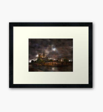 Notre Dame de Paris..... Framed Print