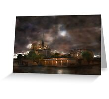 Notre Dame de Paris..... Greeting Card