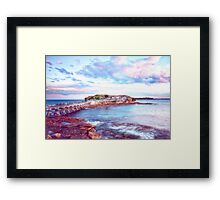 Bare Island Sunset Framed Print