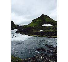 Icelandic Nature Photographic Print