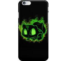 Bulbasaur fushigidane - black iPhone Case/Skin