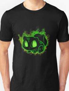 Bulbasaur fushigidane - black T-Shirt