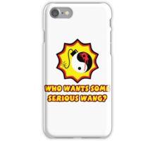 Serious Wang iPhone Case/Skin