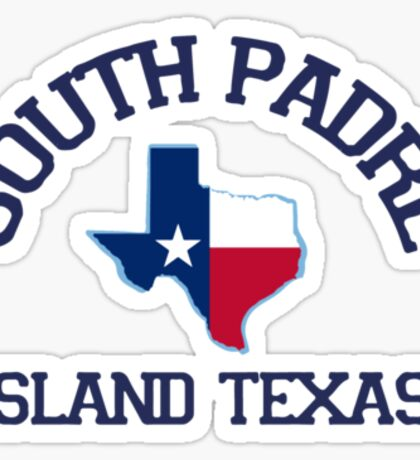 South Padre Island  Collection. Sticker