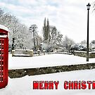 Telephone Box  In The Snow by Lea Valley Photographic