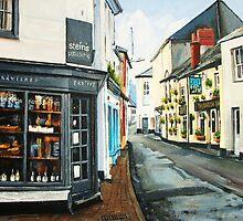Lanadwell St, Padstow Cornwall by jonwatkins