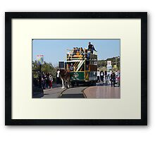 Victor Harbor Horse Drawn Tram Framed Print