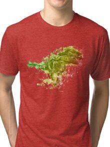 T-rex typography Tri-blend T-Shirt