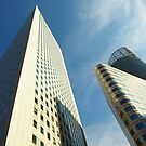 The Towers of La Defense by Alex Cassels