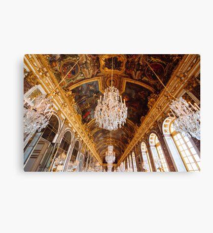 Versailles Palace, France Canvas Print