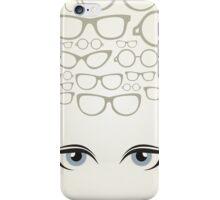 Glasses3 iPhone Case/Skin