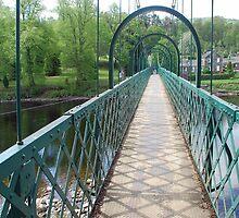 Pitlochry footbridge by Arie Koene