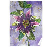 Passionflower III Poster