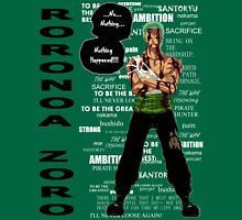 Roronoa Zoro - nothing happened [BW] Unisex T-Shirt