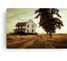 Autumn Abandonment Canvas Print