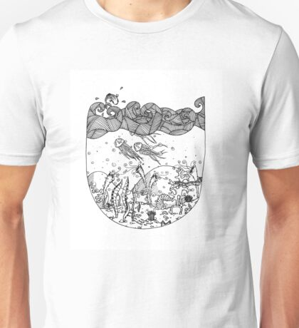 Deep in the Waters Unisex T-Shirt