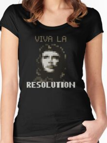 VIVA LA RESOLUTION Women's Fitted Scoop T-Shirt