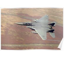 F15 eagle wales uk Poster
