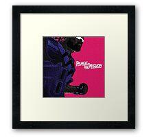 Major Lazer Peace Framed Print
