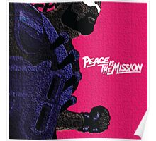 Major Lazer Peace Poster