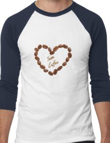 TEAM COFFEE Men's Baseball ¾ T-Shirt