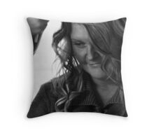 Getting ready ... Throw Pillow