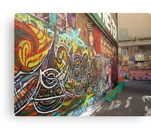 Hosier Lane Canvas Print