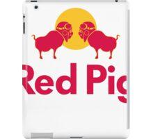 Red Pig iPad Case/Skin