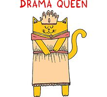 The drama queen by Adrian Serghie