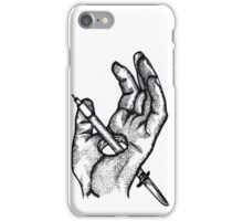 Hands of a killer  iPhone Case/Skin