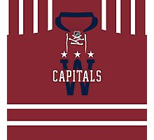 Washington Capitals 2015 Winter Classic Jersey Photographic Print