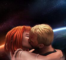 Leeloo & Korben by cyberaeon