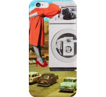 Watching machine iPhone Case/Skin