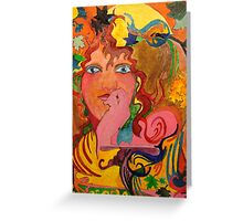 The Lady of Due Seasons! Greeting Card