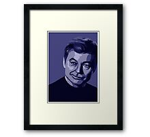 Doctor McCoy (stylized) from Star Trek TOS Framed Print