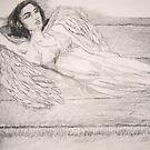 Angel At Rest (Sachiel) by Zelli