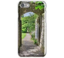 Where Monks once passed. iPhone Case/Skin