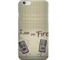 Eraser on FIRE iPhone Case/Skin