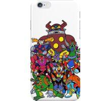Mega Man X 2 Bosses iPhone Case/Skin