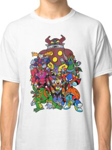 Mega Man X 2 Bosses Classic T-Shirt