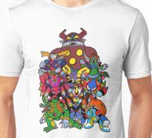 Mega Man X 2 Bosses Unisex T-Shirt